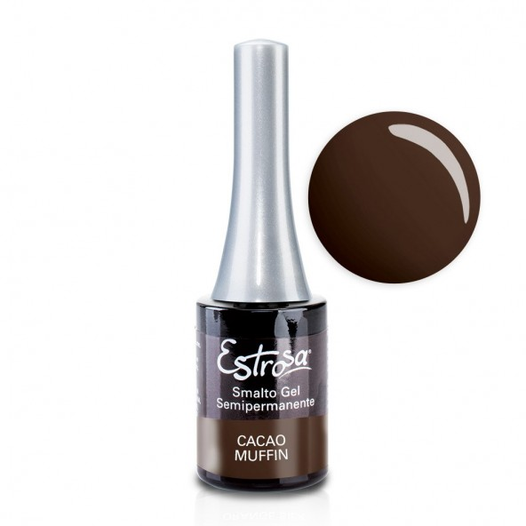 Cacao Muffin - Smalto Semipermanente 14 ml Colori smalto Gel - formato 14 ml