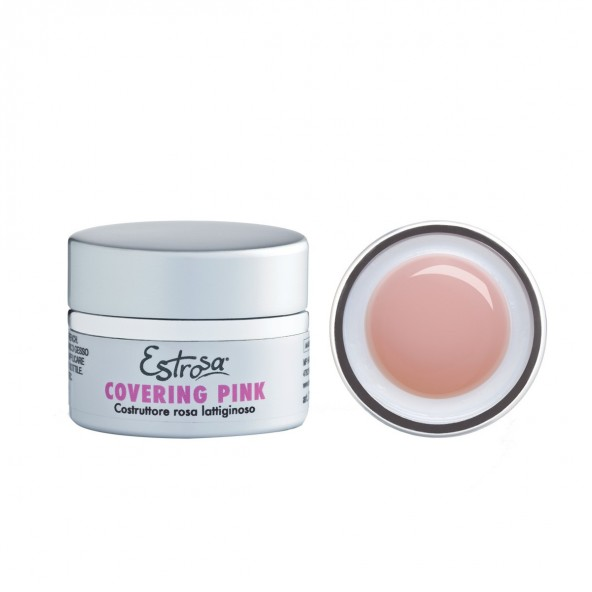 Covering Pink lattiginoso - Gel costruttore 15 ml Gel Metodo Trifasico