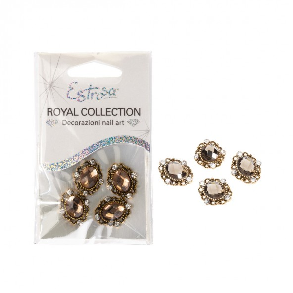 Gold Jewel Royal Collection Nail art e accessori
