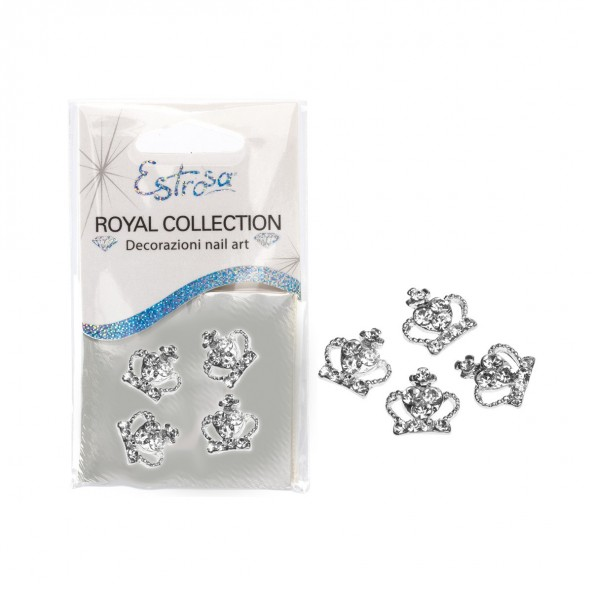 Crown Corona Reale Nail art e accessori