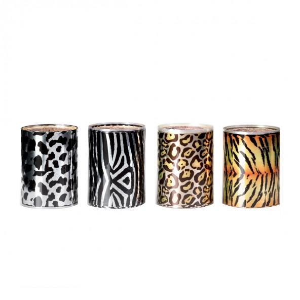 Animalier - Foil Transfer Effect Estrosa Nail art e accessori