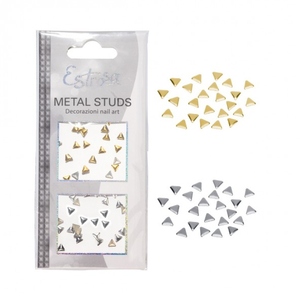 Triangle 4 mm Borchie Metal Studs Accessori Nail Art