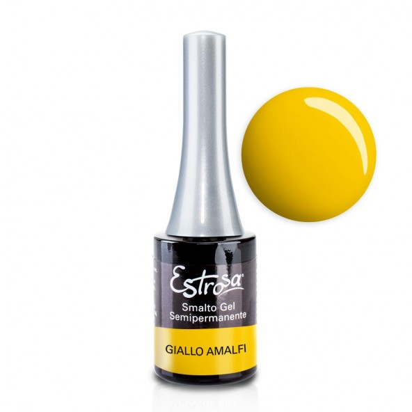 Giallo Amalfi - Smalto Semipermanente 14 ml Colori smalto Gel - formato 14 ml