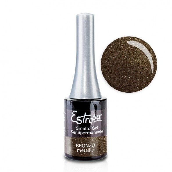 Bronzo - Smalto Semipermanente 14 ml Colori smalto Gel - formato 14 ml