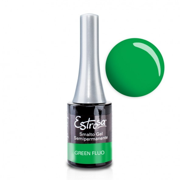 Green Fluo - Smalto Semipermanente 14 ml Semipermanente - Tutti i colori 14 ml