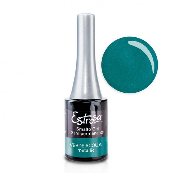 Verde Acqua - Smalto Semipermanente 14 ml Colori smalto Gel - formato 14 ml