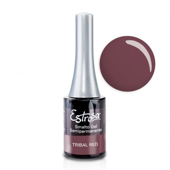 Tribal Red - Smalto Semipermanente 14 ml Colori smalto Gel - formato 14 ml